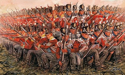 6095 Italeri British Infantry 1815 1 72