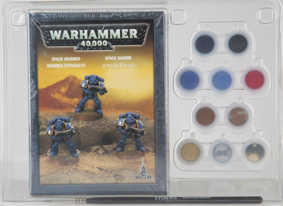 Games Workshop Warhammer 40000 40k Space Marine Paint Set