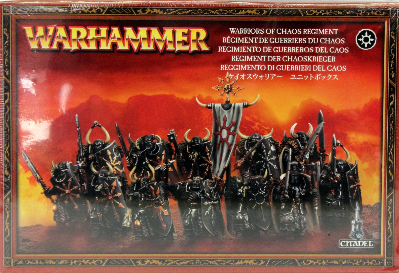 Games Workshop Warhammer Warriors Of Chaos Regiment 83 06
