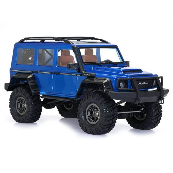 HOBAO HB-DC1E-CB60BU DC1 1/10TH TRAIL CRAWLER RTR W/BLUE BODYSHELL