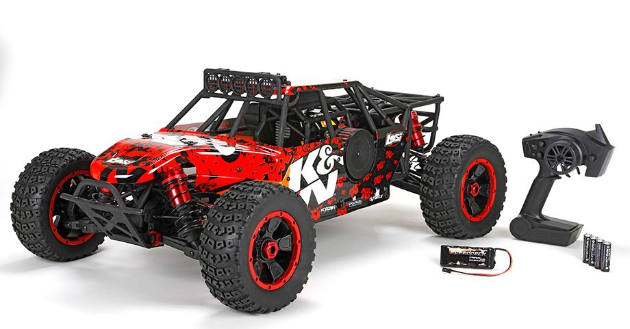los05010 losi dbxl 1 5th k n 4wd desert buggy xl rtr. Black Bedroom Furniture Sets. Home Design Ideas