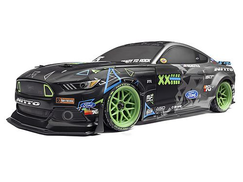 RS4 115984 SPORT 3 VGJR FORD MUSTANG 1/10 4WD ELECTRIC CAR