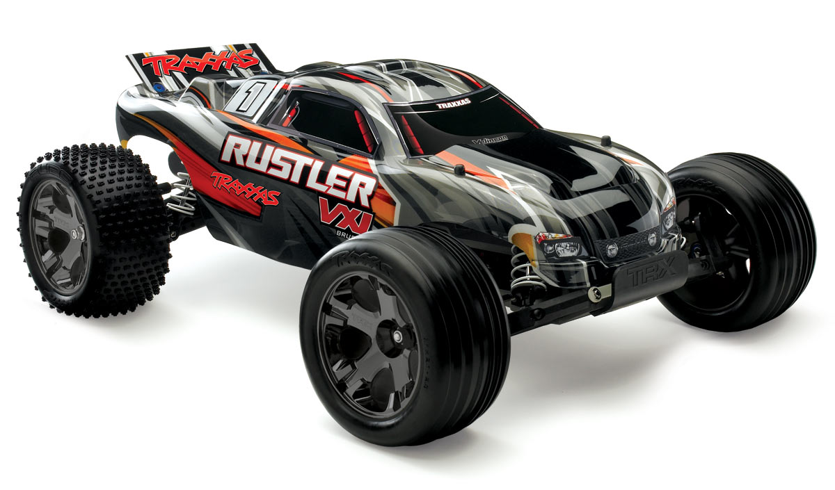fastest rc nitro car with Trx 37076 1bk Traxxas Rustler Vxl Id Rtr Truck Black 1780 P on Traxxas Rustler Wheels further 1314900 in addition Watch likewise Tamiya Rc Cars 2010 furthermore How To Make Your Rc Car Go Faster Electric.